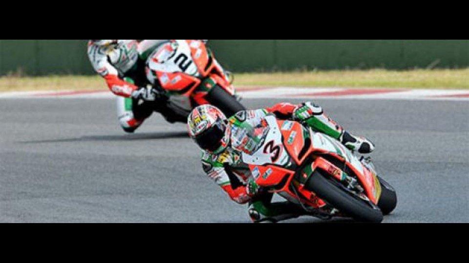 Moto - News: WSBK 2010, Miller, gara-2: doppietta Aprilia