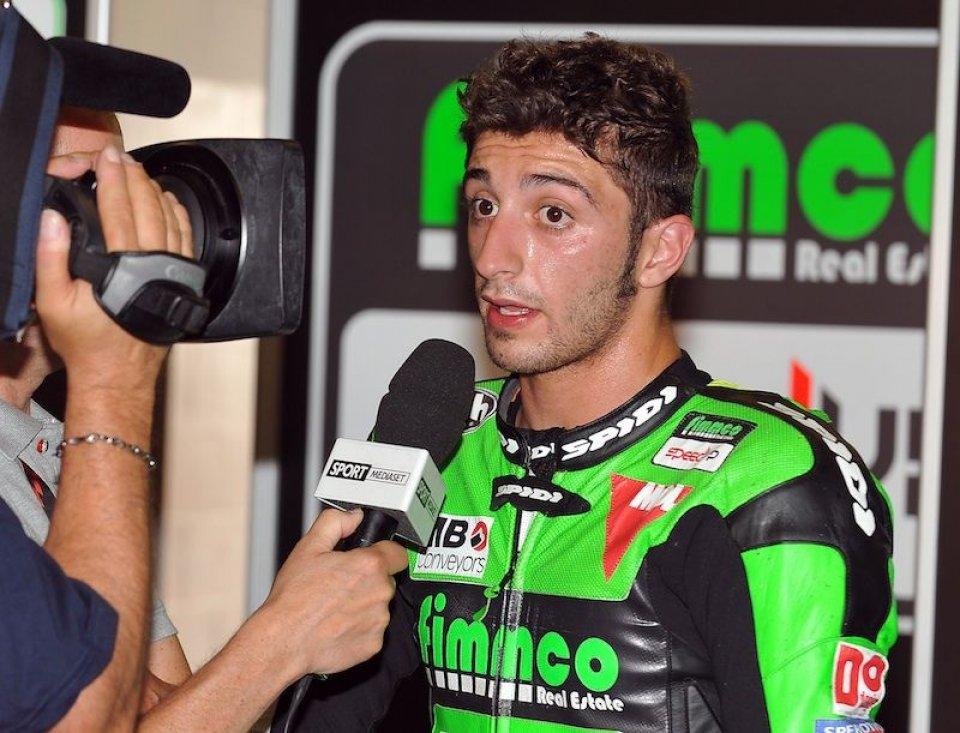 Iannone protagonista in Moto2