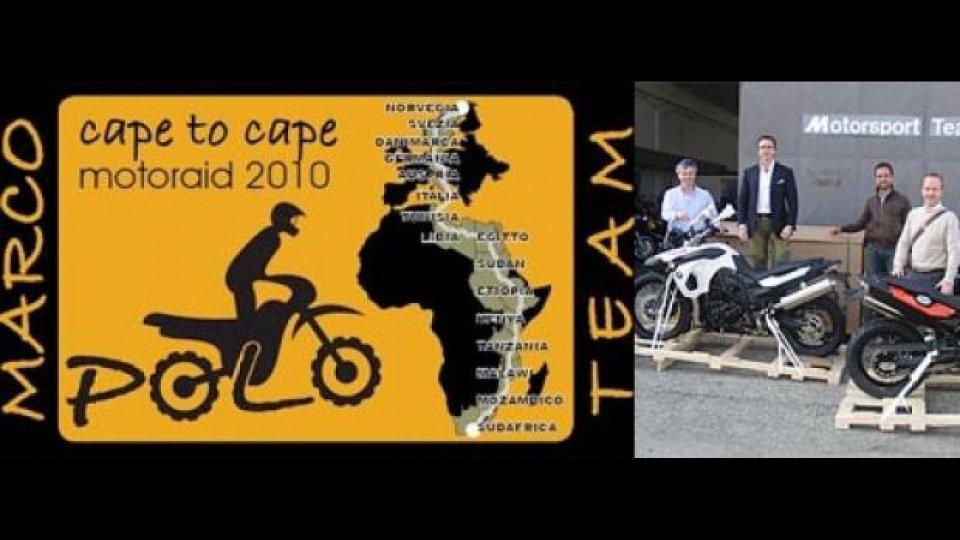 """Moto - News: """"Cape to cape 2010"""", da Cape Town a Capo Nord"""