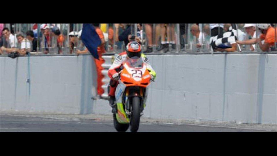 Moto - News: CIV 2010, Misano: vince Sandi su Aprilia RSV4