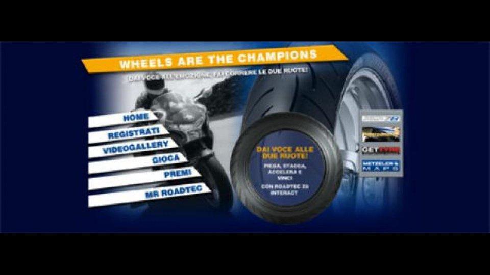 "Moto - News: Concorso Metzeler ""Wheels are the Champions"""