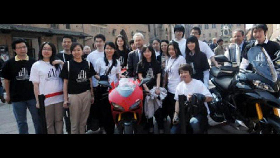 Moto - News: Ducati al pad. Bologna dell'Expo di Shangai 2010