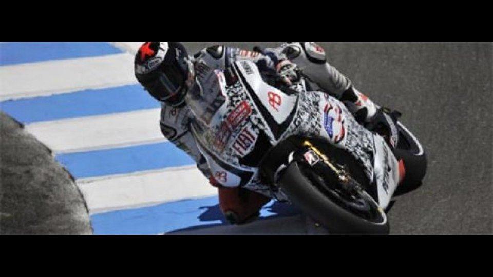 """Moto - News: MotoGP 2010, Laguna Seca, Qualifiche: Lorenzo sotto il 21"""""""