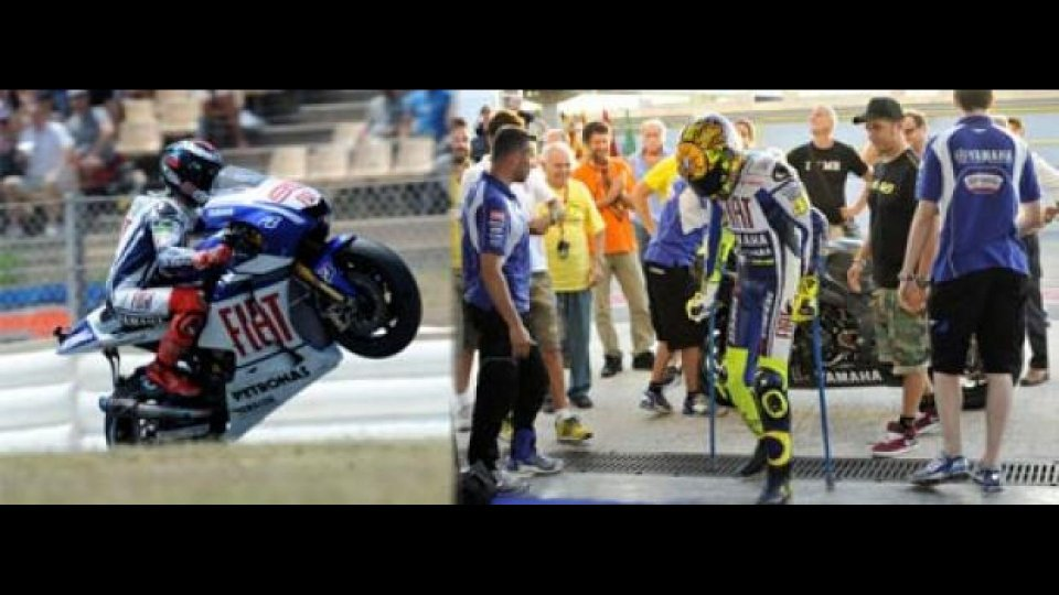 Moto - News: MotoGP 2010, Sachsenring: aspettando Rossi