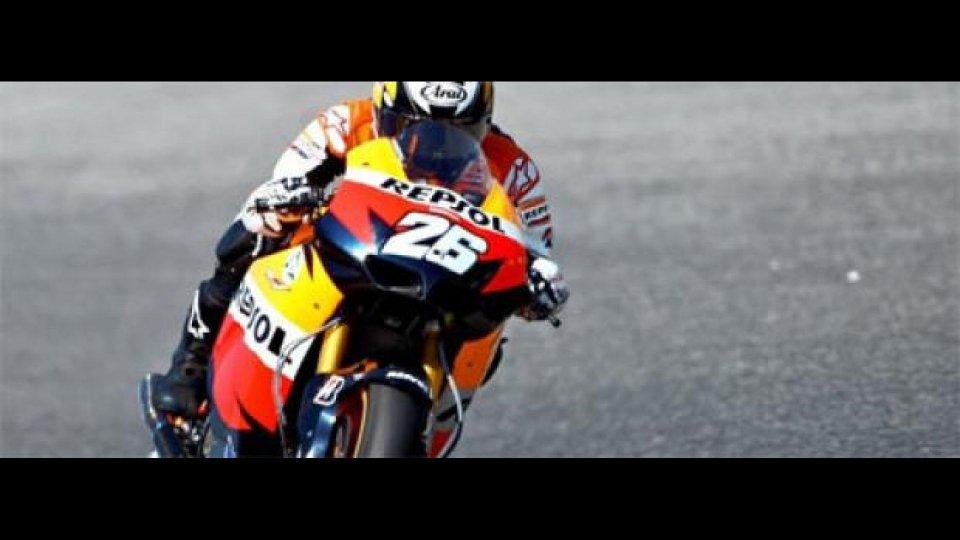 Moto - News: MotoGP 2010, Sachsenring, FP1: Pedrosa il più veloce