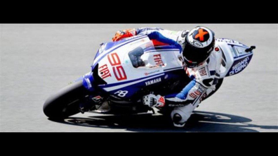 Moto - News: MotoGP 2010, Sachsenring, FP2: Lorenzo primo