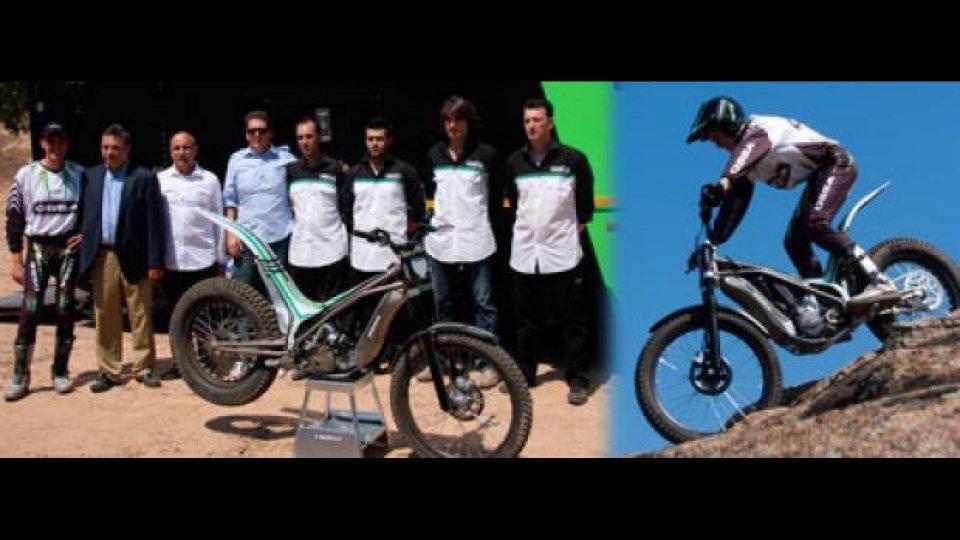 Moto - News: Presentata a Girona in Spagna la Ossa TR280i