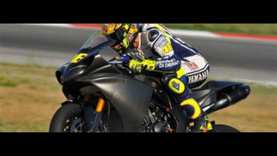 Moto - News: Valentino veloce nel test di Brno con la R1