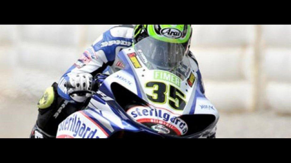 Moto - News: WBSK 2010, Silverstone, Superpole: Crutchlow show