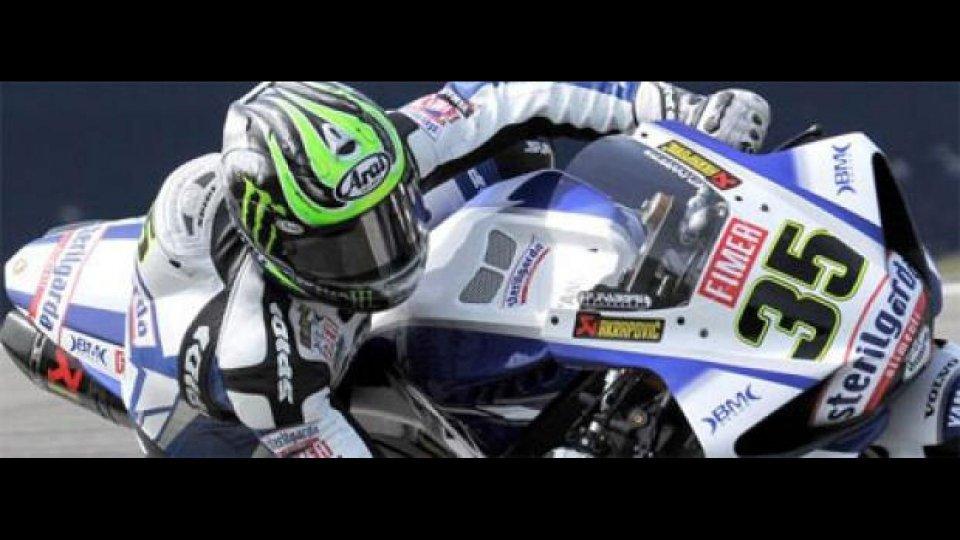 Moto - News: WSBK 2010, Silverstone, Q1: comincia Crutchlow