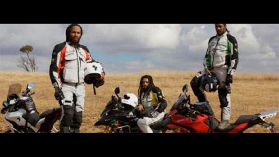 Moto - News: Africa Road Trip: i figli di Bob Marley sulla Ducati Multistrada 1200