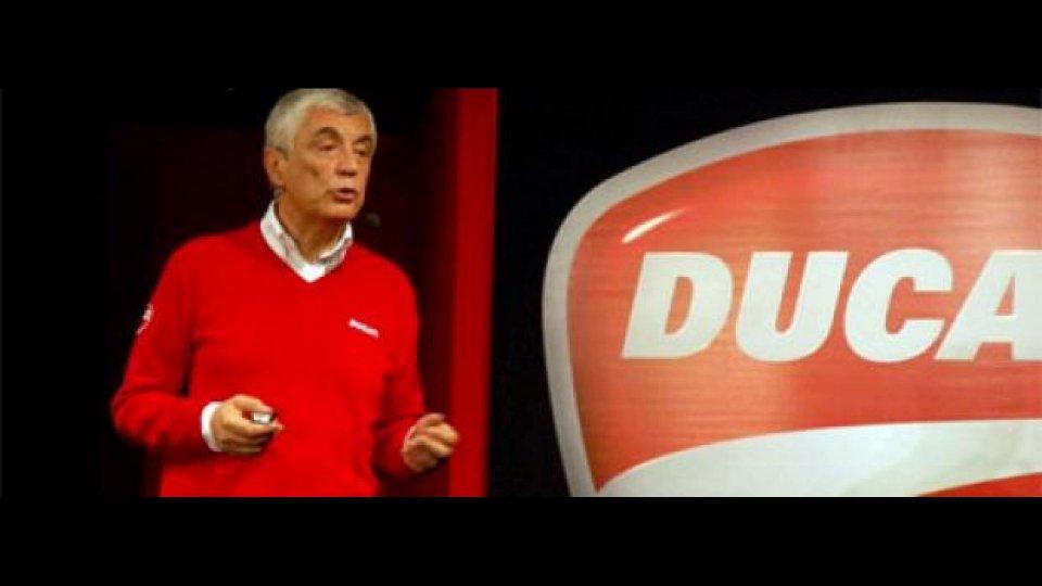 Moto - News: Del Torchio conferma Valentino Rossi in Ducati