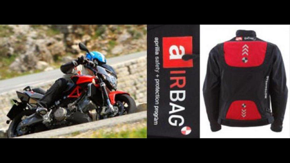 Moto - News: Gruppo Piaggio: ecco la Giacca Airbag