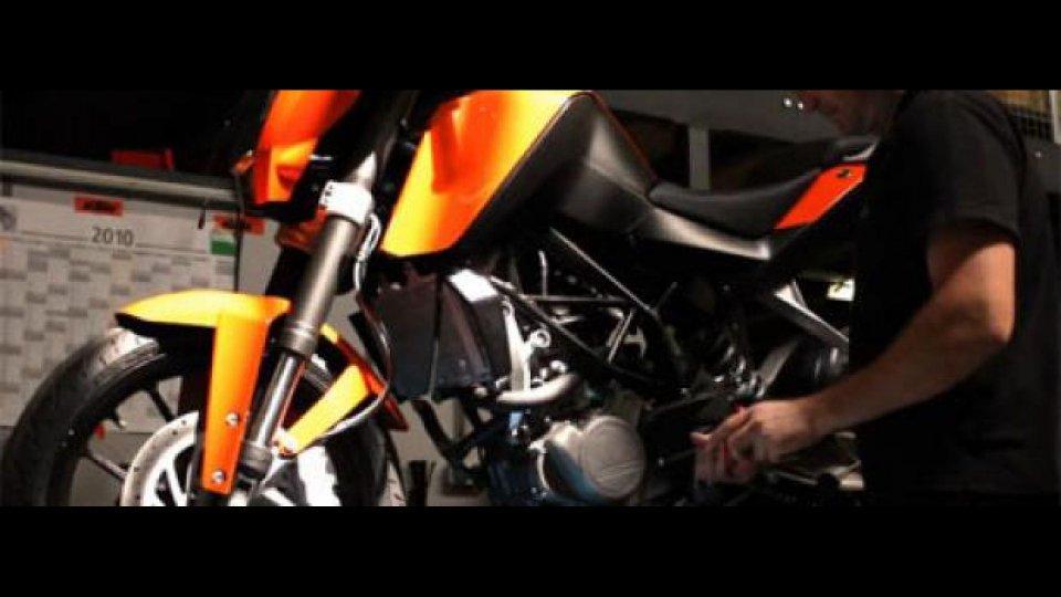 Moto - News: KTM 125 Naked: tutto pronto per il debutto