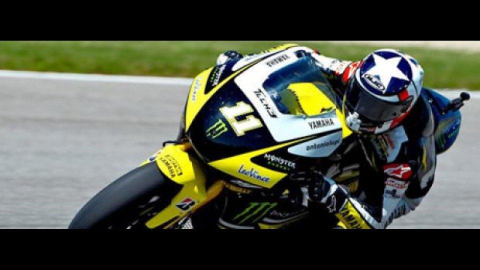 Moto - News: MotoGp 2010, Indianapolis, Qualifiche: prima pole per Spies