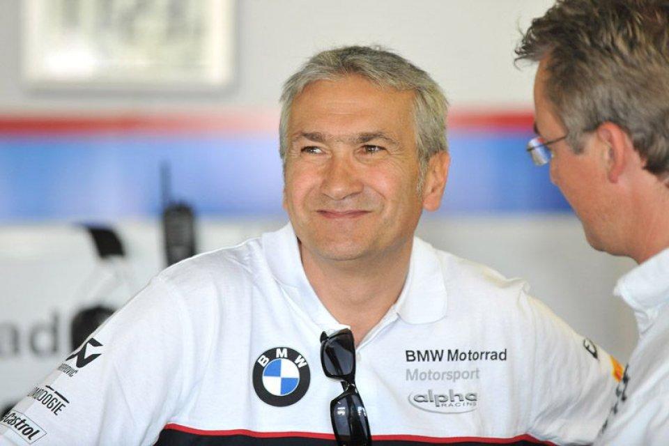 Moto - News: BMW a Magny-Cours senza Tardozzi