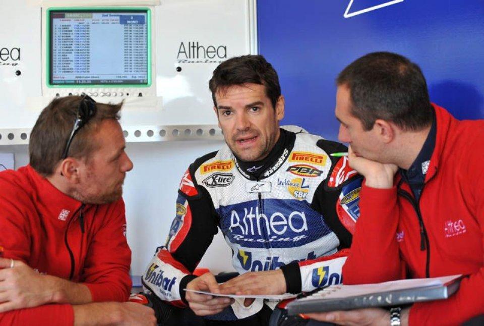 Moto - News: Biaggi ottavo nel warm up