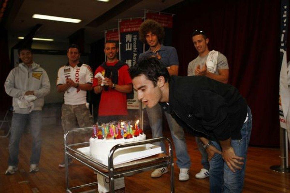 Moto - News: Pedrosa spegne le candeline in HRC
