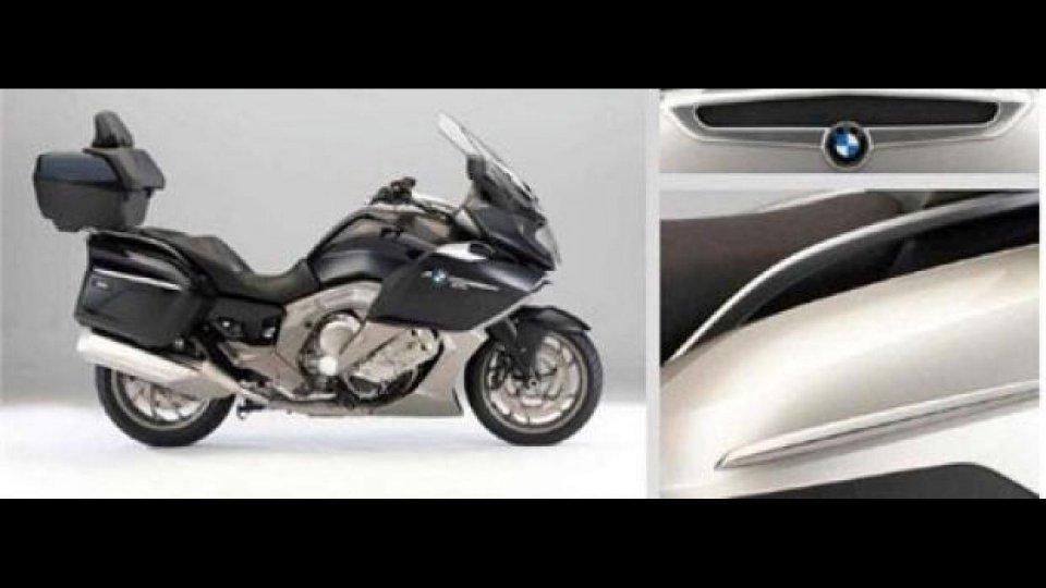 Moto - News: BMW K1600 GT/GTL: le prime immagini
