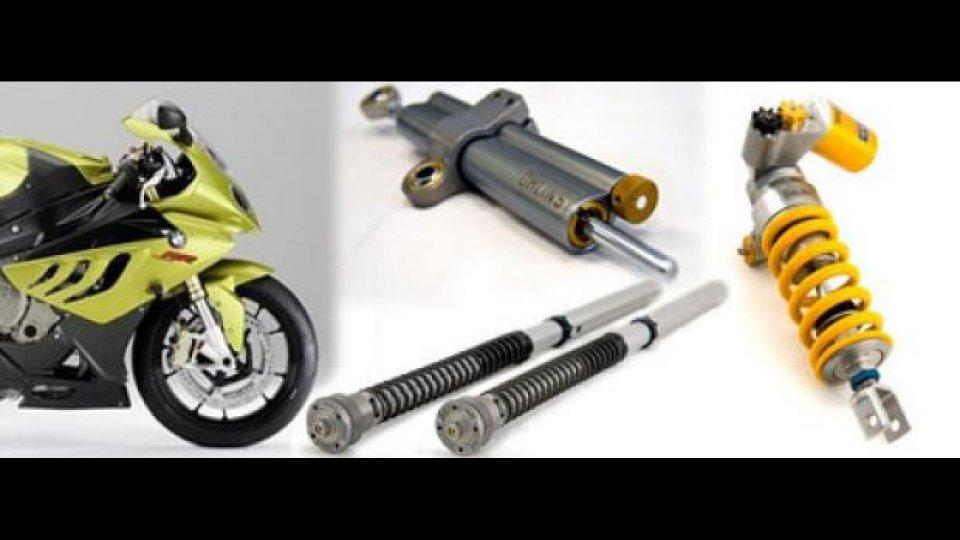 Moto - News: Da Andreani Group kit Ohlins per BMW S1000RR