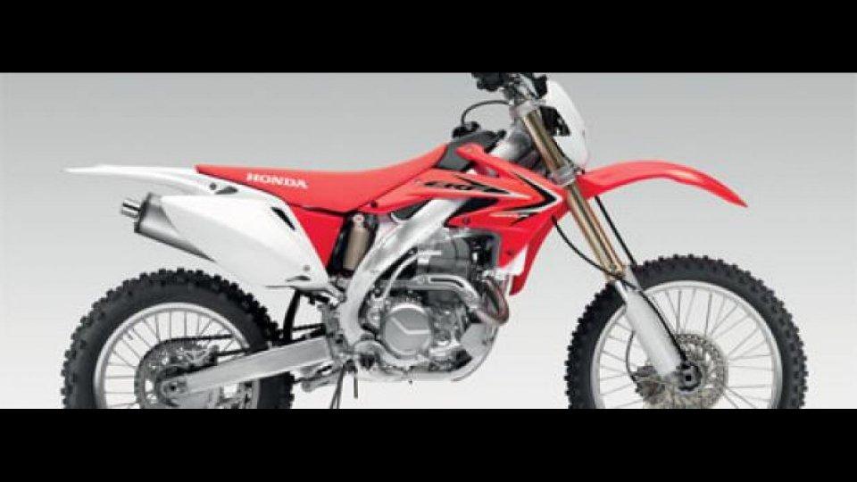 Moto - News: Honda CRF450X m.y. 2011