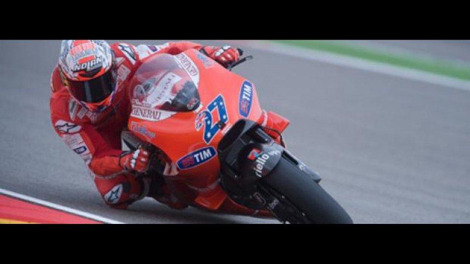 Moto - News: MotoGp 2010, Aragon, Gara: Finalmente Stoner