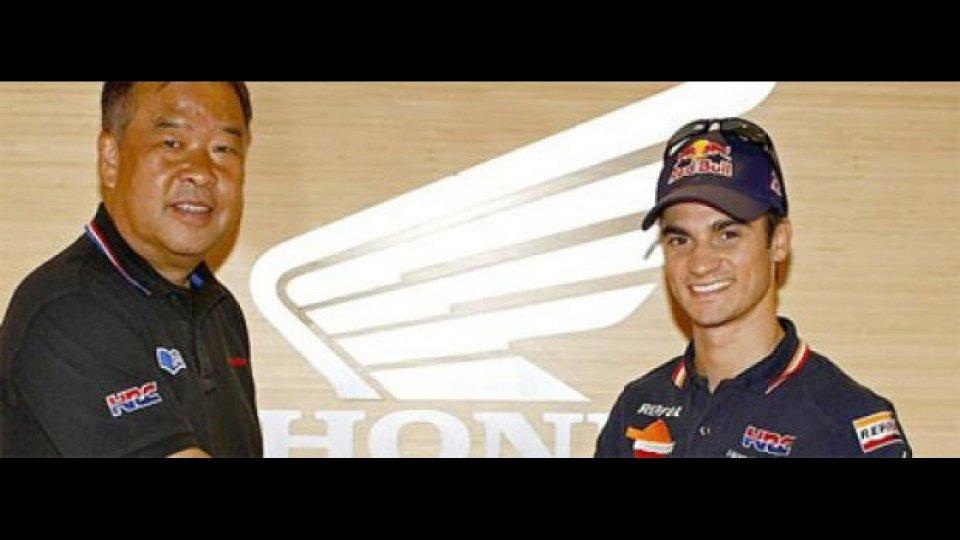 Moto - News: MotoGP: Pedrosa rinnova con Honda fino al 2012
