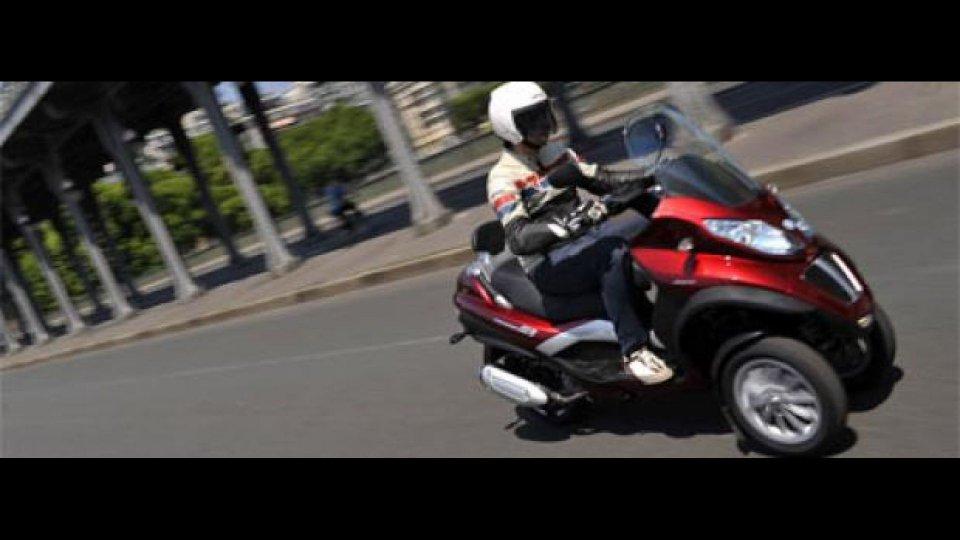 Moto - News: Piaggio: MP3 Tour ora a Milano e Firenze