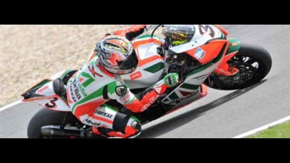 Moto - News: WSBK 2010, Nurburgring, Superpole: grande Biaggi