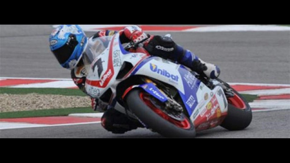 Moto - News: WSBK, Imola, Gara1: è tripletta Ducati
