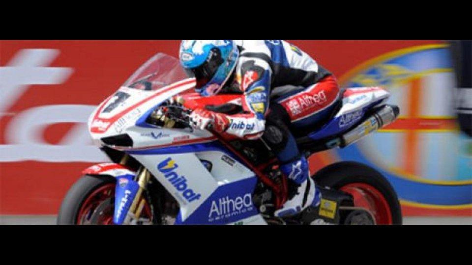 Moto - News: WSBK, Imola, Q1: Carlos Checa in gran forma