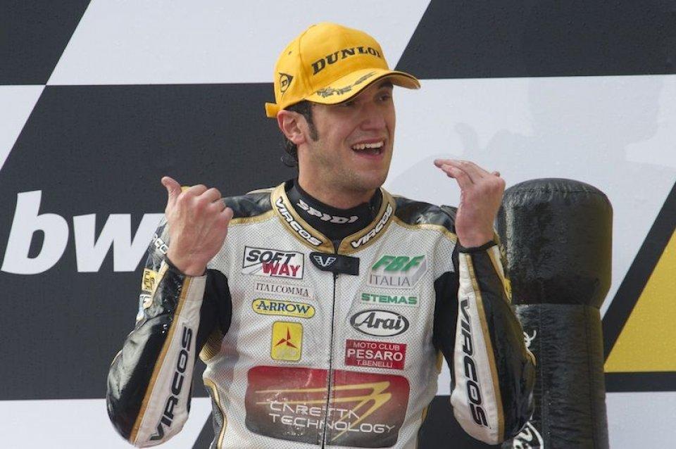 Moto2: Moto2: primo podio per Alex Baldolini