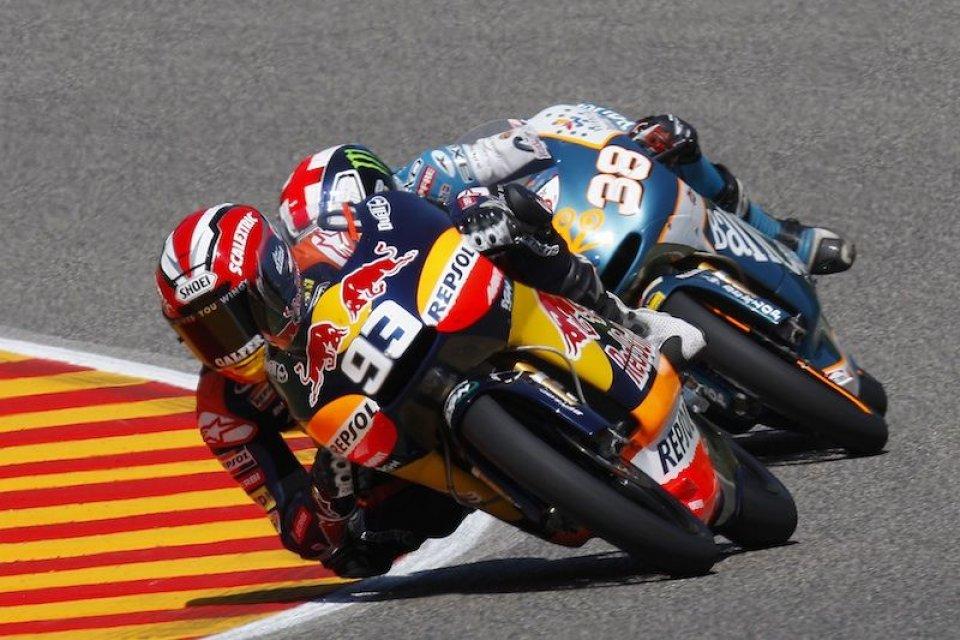 Moto - News: Marquez insegue Capirossi