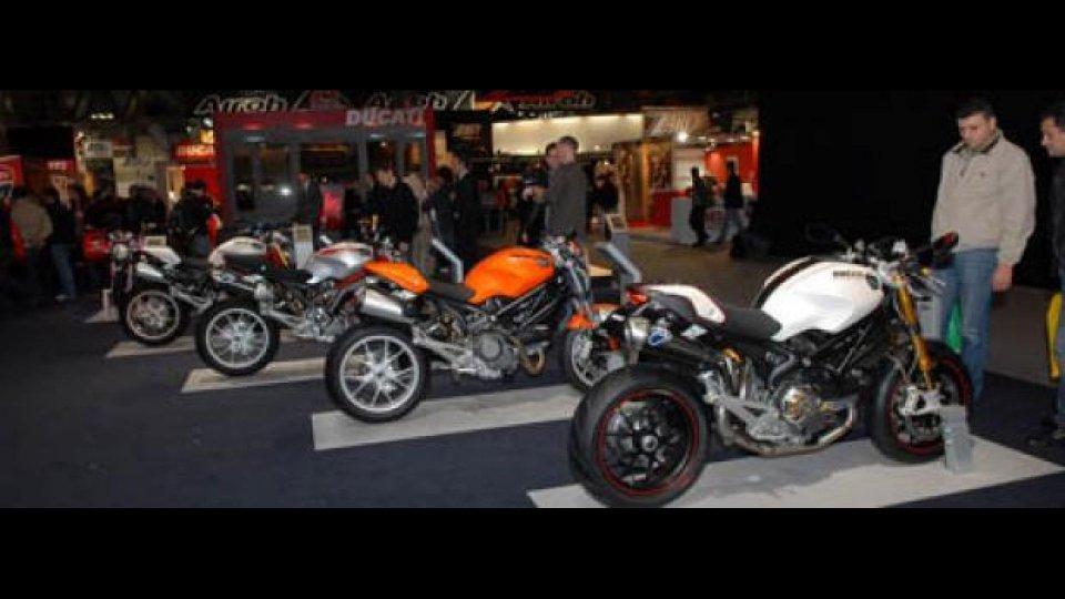Moto - News: Ducati a EICMA 2010