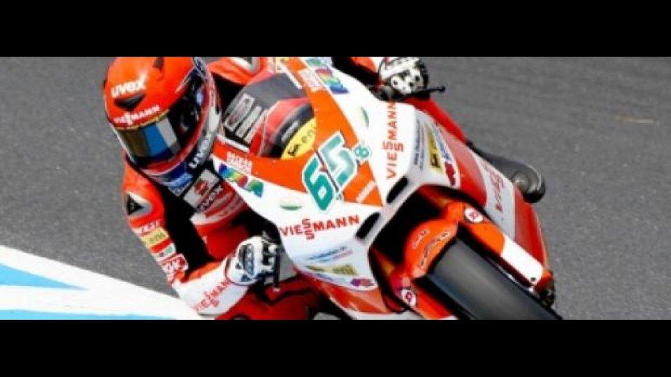 Moto - News: Moto2, Estoril, gara: Primo successo di Bradl