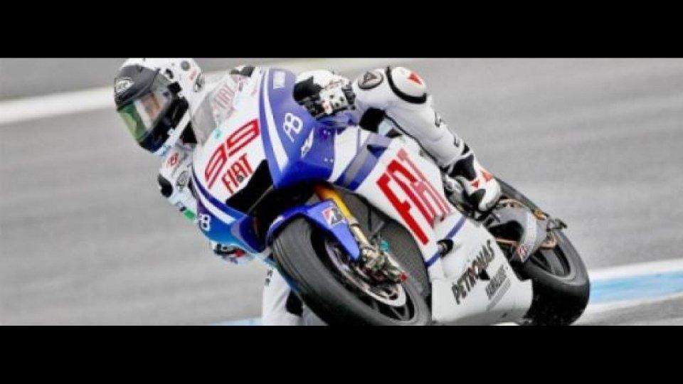 Moto - News: MotoGP, Estoril, libere 3: Ancora Lorenzo al top