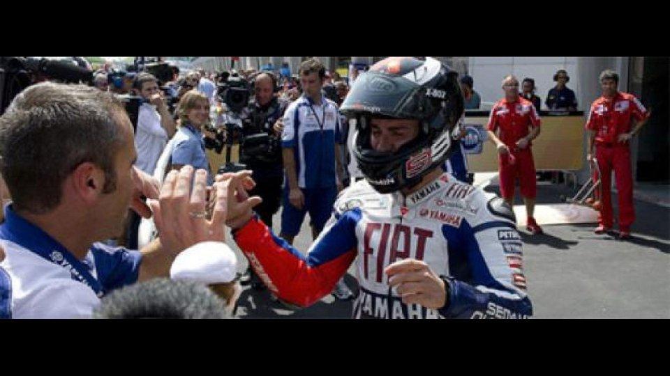 Moto - News: MotoGP: Lorenzo emozionato dopo Sepang