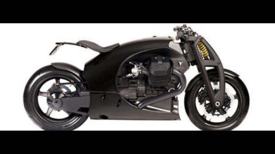 Moto - News: Renard GT: la Guzzi in carbonio