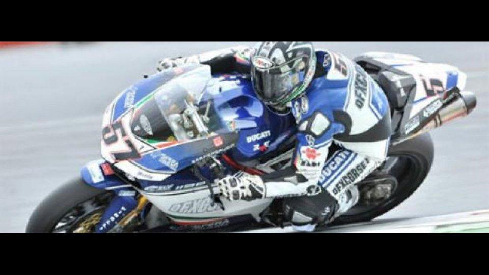 Moto - News: WSBK, Magny-Cours, Qualifiche1: pole per Lanzi