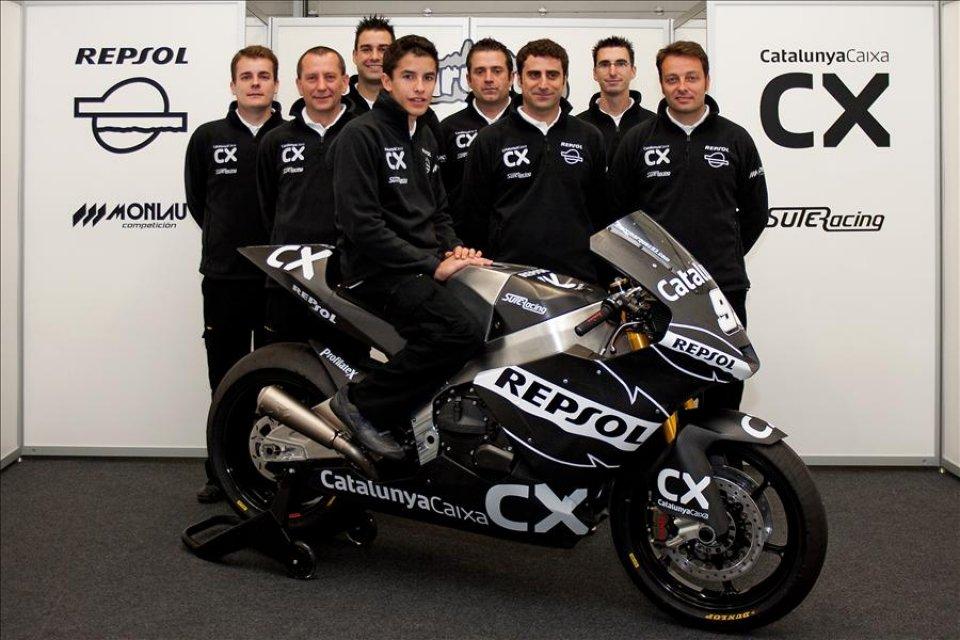 Moto - News: Moto2: Marquez, debutto a Jerez