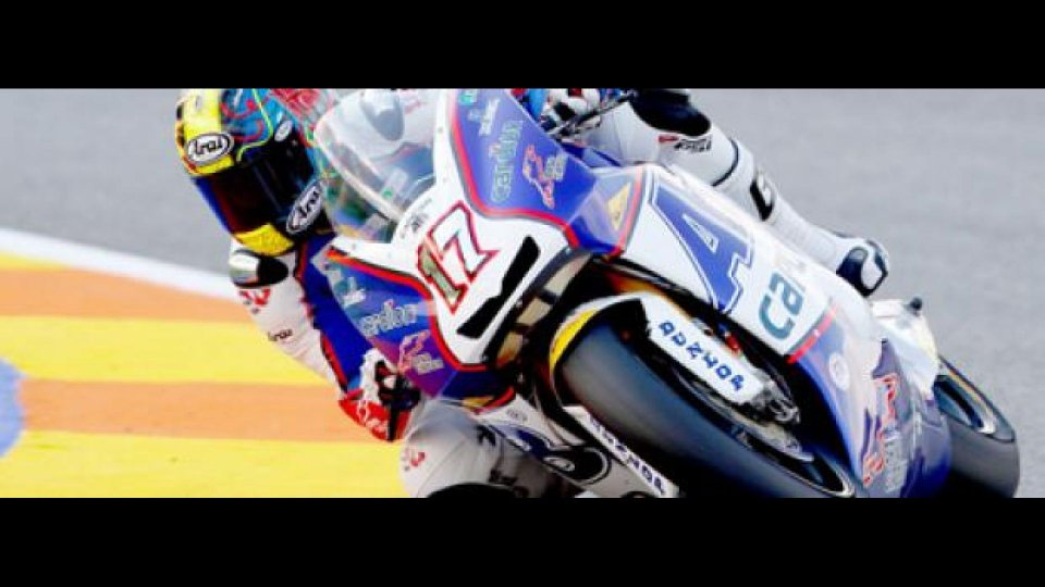 Moto - News: Moto2, Valencia, Gara: primo centro di Abraham