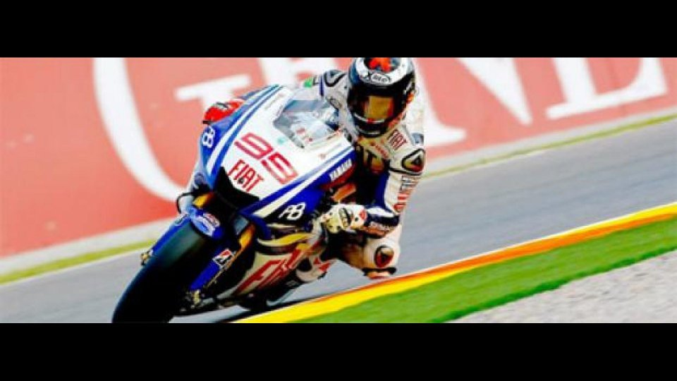Moto - News: MotoGp, Valencia, Libere 2: Lorenzo risponde