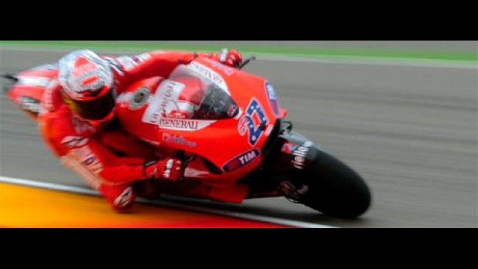 Moto - News: MotoGp, Valencia, Libere 3: Stoner piglia tutto