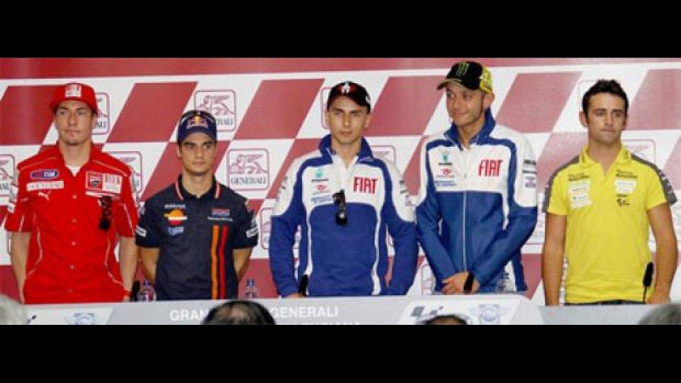 Moto - News: MotoGp, Valencia, test: Lorenzo e Rossi daranno il massimo