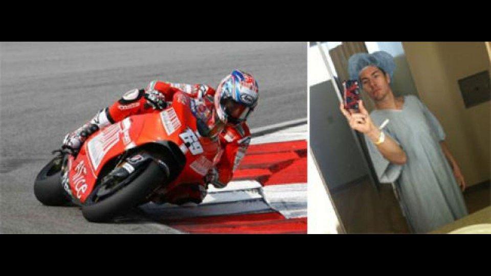 Moto - News: Nicky Hayden si opera al tunnel carpale