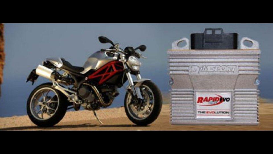 Moto - News: RapidBike Evo per Ducati