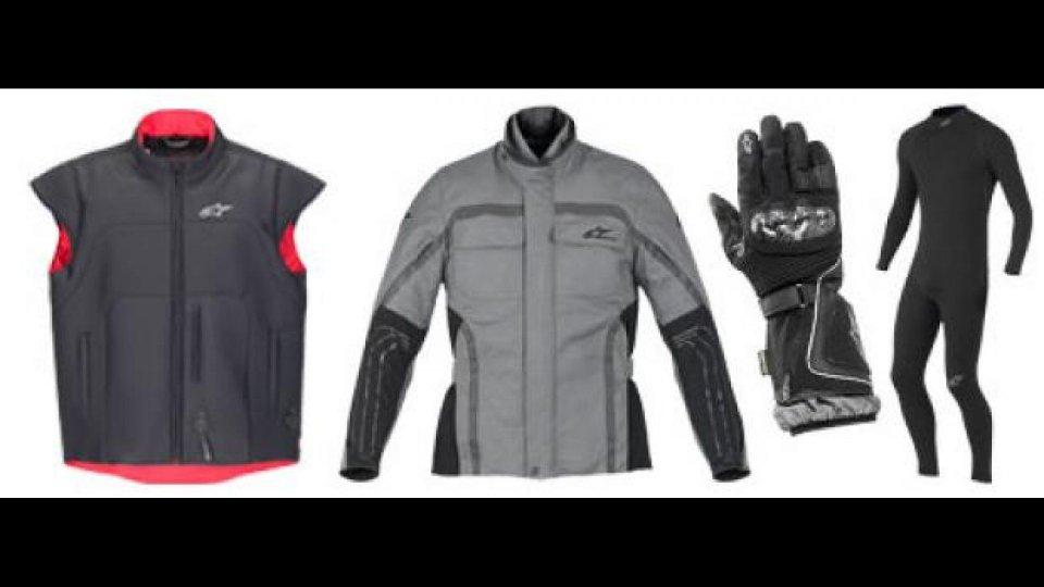 Moto - News: Alpinestars, viaggiare caldi in inverno!