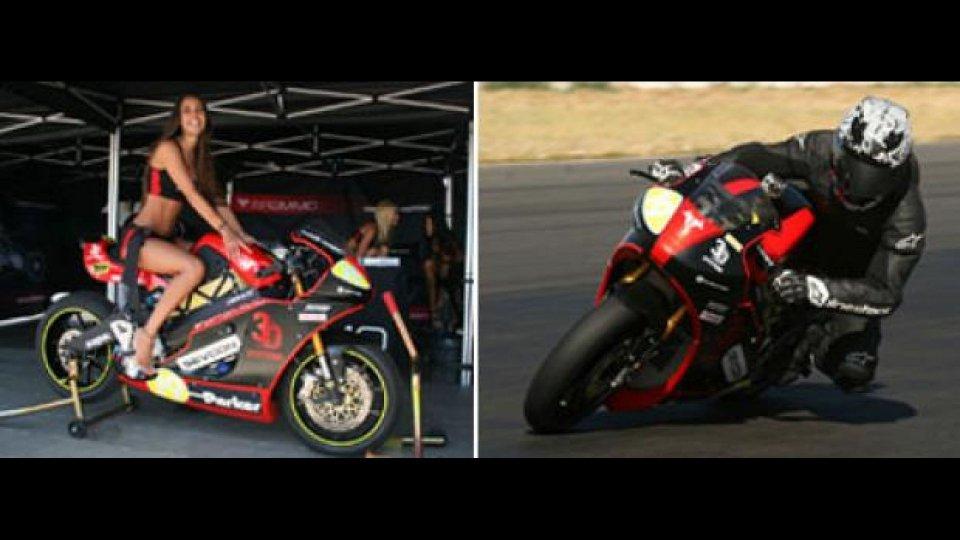 Moto - News: Brammo: test in pista per la Empulse RR