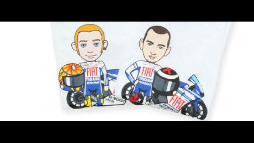 Moto - News: Fiat Yamaha Team e tokidoki: asta benefica per Riders for Health
