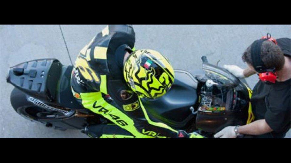 """Moto - News: MotoGp: la spalla di Rossi """"procede bene"""""""